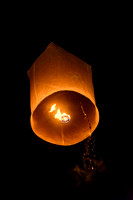 Lantern with Firecrackers
