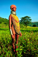 Bonda Lady in Field
