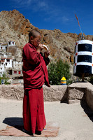 Young Monk at Hemis Gompa