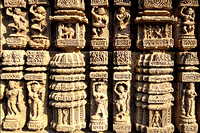 Carvings on the Sun temple