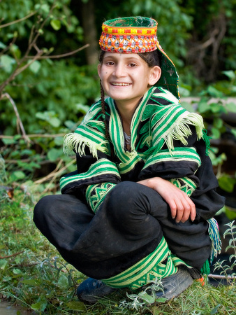 Vanishing Cultures Photography | Kalash | Smile